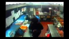 Police are looking for the suspects in the video who attempted to rob the Church's Chicken at 5500 Prospect on December 9, 2012. The three entered the restaurant, produced a handgun, and demanded money. An employee managed to disarm one of the suspects, and they ran away. attempt, disarm, handgun, churches, 5500, enter, employe manag, church chicken, demand