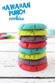 Make Hawaiian Punch Cookies
