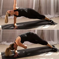 The Ultimate Arms and Abs Workout  Hard and my form was not so good... but I am going to keep trying!!!  ;)