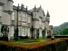 appplesphotos:  Side Wall of Balmoral Castle, Aberdeenshire, Scotland - Summer 2010
