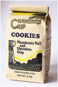 """Chamorro Chip Cookies!!!! Amazing!! """"Miss eating this"""""""