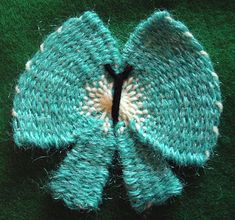 Flower Looms: Embroidered Butterfly