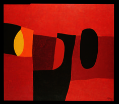 Lovely piece by Afro Basaldella (1912–1976), an Italian painter generally known by the single name Afro
