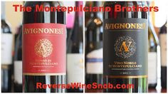 The Reverse Wine Snob: Meet The Montepulciano Brothers - Rosso di Montepulciano and Vino Nobile di Montepulciano. Two can't miss wines from Avignonesi. http://www.reversewinesnob.com/2014/07/the-montepulciano-brothers.html #wine #winelover