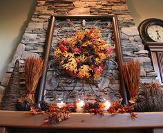 Fall mantle...  gorgeous