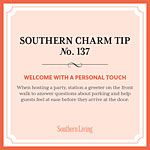 Southern Charm Tip No 137