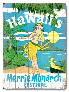 Merrie Monarch Festival (going on now...