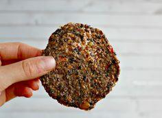 Flax Veggie Thins (raw, vegan, gf)  // Wholehearted Eats