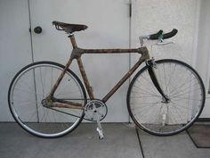 diy bamboo bike.