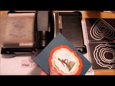 Framelits fun-fold Card Tutorial  #4 funfold card, flip flop, card tutorials
