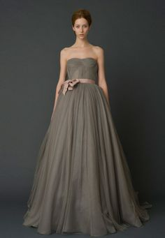 in ivory?  Wedding Dresses, Bridal Gowns by Vera Wang   Spring 2012
