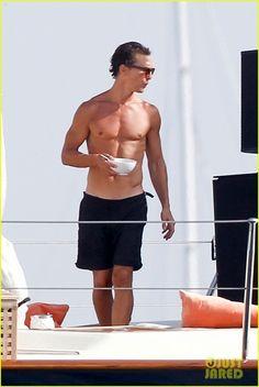 Matthew McConaughey & Camila Alves: Ibiza Vacation!