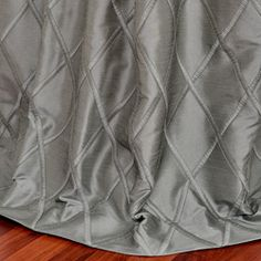 These beautifully detailed embroidered faux silk curtains are defined by a unique sheen and fine weave.  They have a crisp smooth finish with a lattice pattern embroidery pattern for a rich, tailored look at a fraction of the price.