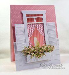 window card by Kittie Caracciolo