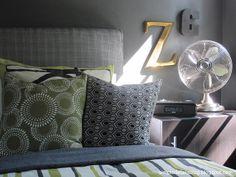 teen boy's bedroom...