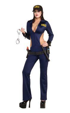 Disfraz FBI mujer | Disfraces Originales