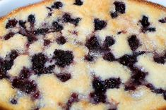 Blackberry Cobbler... I've made this before, it's seriously amazing and so easy.