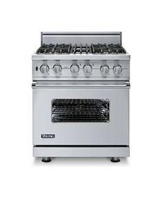 Custom 30 Inch Sealed Burner Self-Cleaning Gas Range - Viking Range Corporation