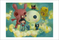 Itsumo Issho (Always Together) by Mari Inukai - Gallery Nucleus