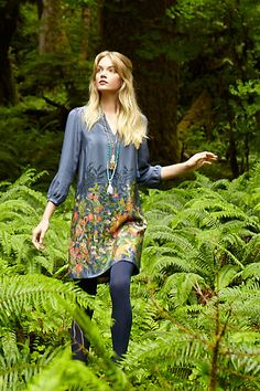 Fabled Fields Shift #anthropologie