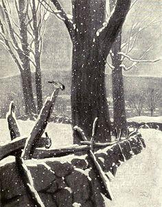 Walter King Stone, illustrator. From: Walter Prichard Eaton, In Berkshire Fields, 1920.