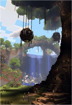 Beautiful Minecraft creation