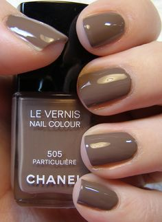 Neutral color that works all year: Chanel Particuliere