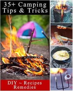 Camping Tips And Tricks & Treats