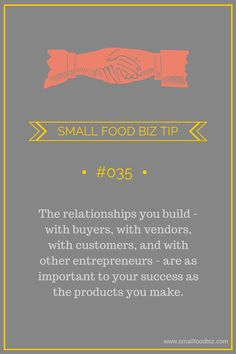 Small Business Relationships: Monthly Business Tip #35