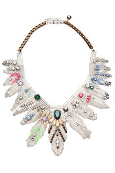 bib statement necklace to add that extra special something to a basic outfit