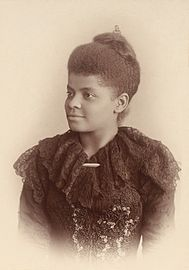 Ida B. Wells-Barnett,  was an African-American journalist who was an early civil rights leader, and active in the women's suffrage movement, fighting for Black - Women' suffrage.