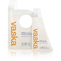 vaska perfect laundry detergent (unscented)