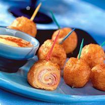 Mini Monte Cristos!! Love these!! :)