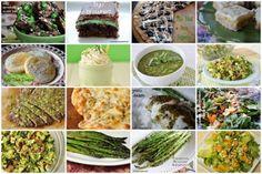 St. Patricks Day Green menu ideas