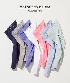 Closed - Coloured Denim!