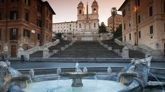 The Spanish Steps - Rome, Italy 2005
