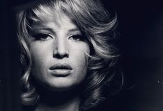 Monica Vitti the muse of Michelangelo Antonioni