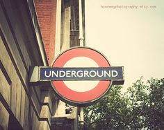 London Photography Underground Photo London by HConwayPhotography, $30.00