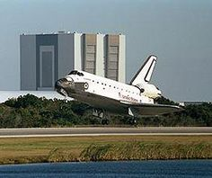 moments away from touchdown at the Kennedy Space Center's Shuttle Landing Facility, bringing to a close the STS-113 mission to the International Space Station. Image credit: NASA