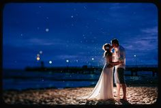 A pic on Imgur of a beautiful beach wedding!