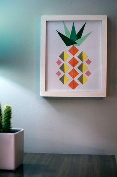 DIY Decor Trend: Pineapple Craft Projects via @Gilda Locicero Therapy