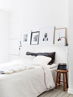scandinanvian white bedrooms / sfgirlbybay