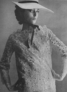 Sixties model Benedetta Barzini