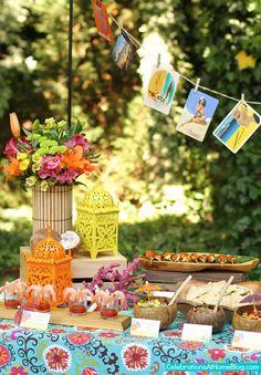 Luau luau parti, theme parti, tropic parti, tropic birthday, parti idea, themed parties