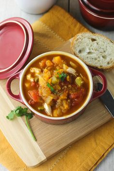 Hearty Quinoa Chicken Stew with Butternut Squash