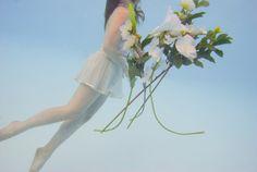 dig design, sky, flowers, underwat godess