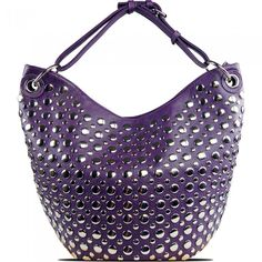 Susan Nichole Vegan Handbag Bella in Purple