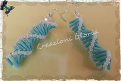 Il filo di mais di Chiara Gloria e Daniela: Tessitura miyuki : orecchini spirale bugle