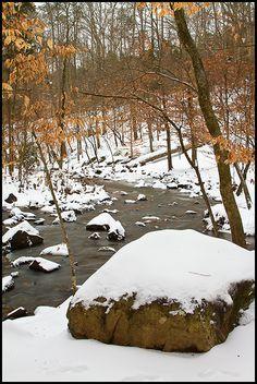 Snow in North Carolina!