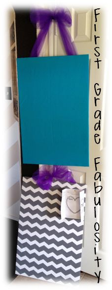 Foam boards and pushpins for student work display! So Simple!
